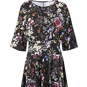 Simply Be Print Corset Dress Sz. 20 NWT